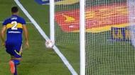 O «quase» golo no Boca Juniors-River Plate