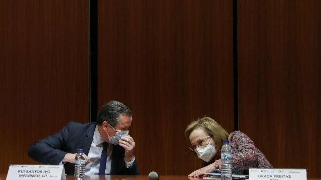 Covid-19: Conferência de imprensa sobre a vacina da Astrazeneca