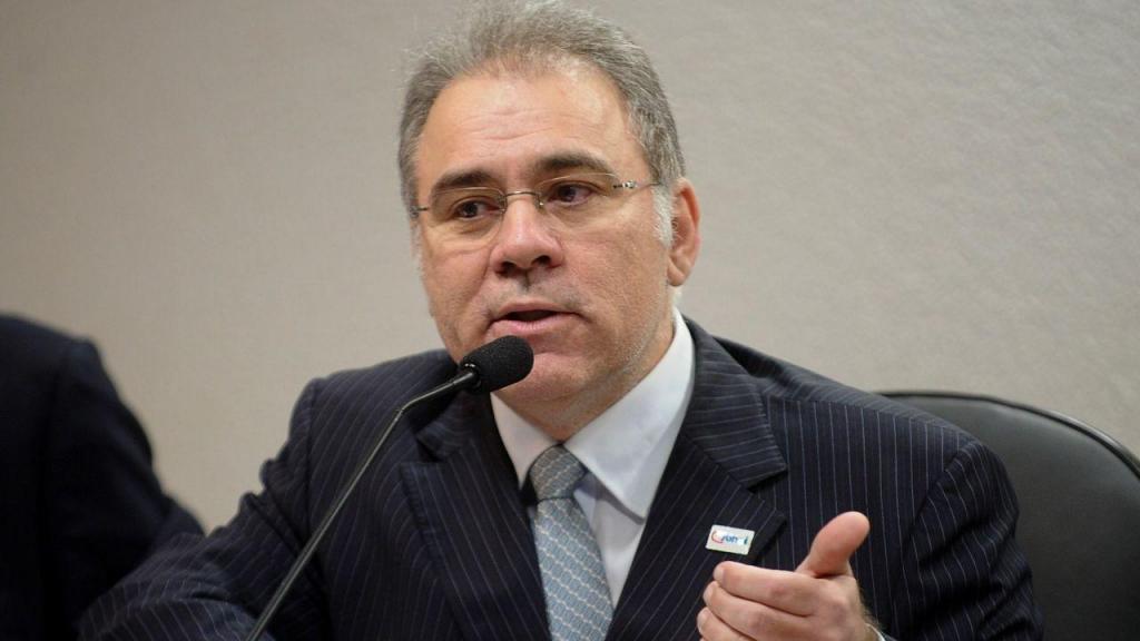Marcelo Queiroga, ministro da Saúde no Brasil