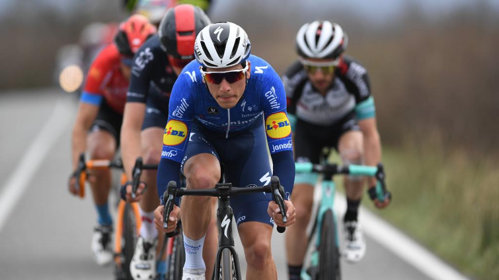 João Almeida no Tirreno-Adriático (Deceuninck-Quick Step)
