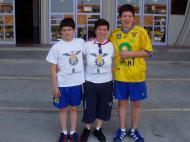 Rui Silva jogou com o irmão, Nuno Silva, no Xico Andebol, no Sporting e também nas seleções nacionais até aos sub-21 - fotos do arquivo pessoal