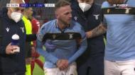 A estranha lesão de Lazzari no Bayern Munique-Lazio