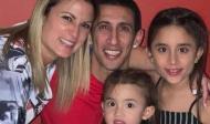 Di María com a família