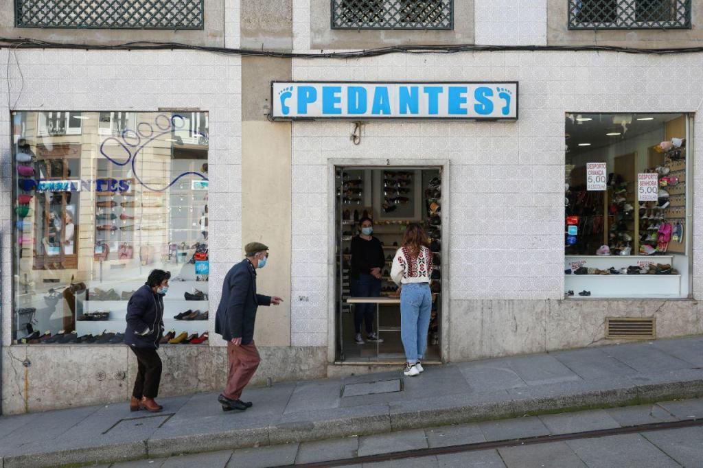 Desconfinamento no Porto