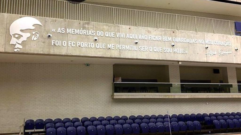 Frase de Alfredo Quintana no Dragão Arena (FC Porto)