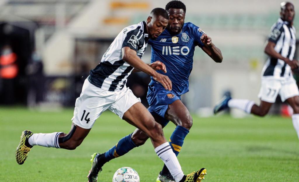 Portimonense-FC Porto (Luís Forra/Lusa)