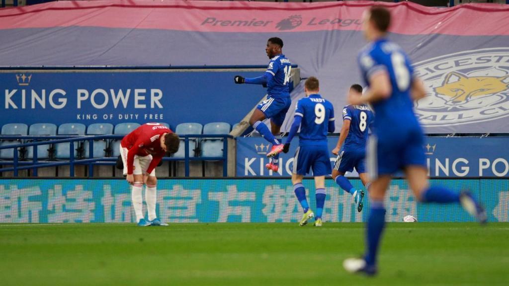 Leicester-Manchester United (AP Photo/Ian Walton, Pool)