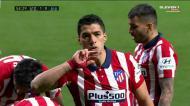 Suárez dá vantagem ao At. Madrid com o golo 500 na carreira
