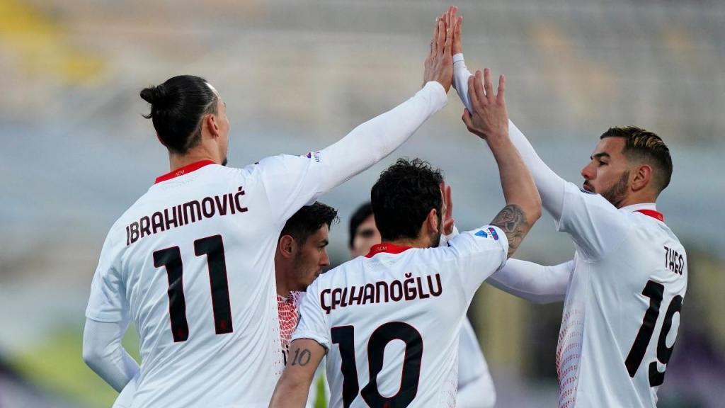 Fiorentina-Milan (Spada/LaPresse via AP)