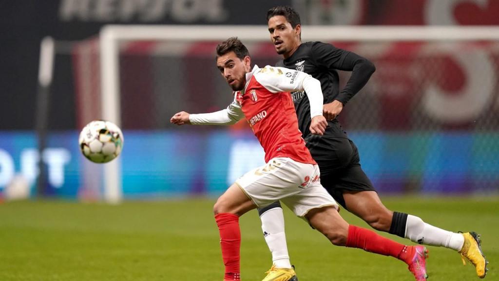 Sp. Braga-Benfica (Hugo Delgado/Lusa)