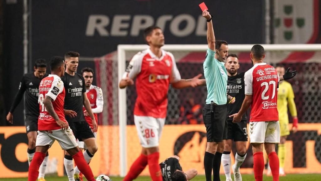 Sp. Braga-Benfica (Hugo Delgado/Lusa