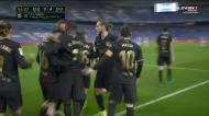 Messi joga de olhos fechados com Busquets e faz o golo da ordem