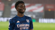 6.º: Bukayo Saka, Arsenal (120 a 150 milhões de euros)