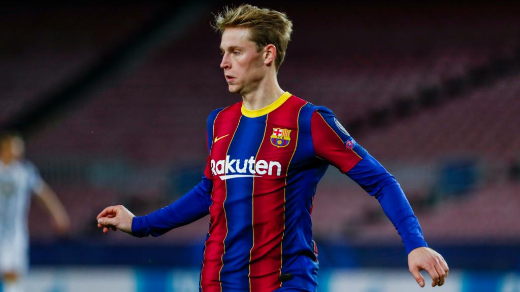 10.º: Frenkie De Jong, Barcelona (90 a 120 milhões de euros)