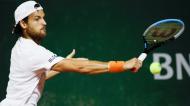 Ténis: João Sousa em Roland Garros, em setembro de 2020 (Alessandra Tarantino/AP)