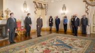 Abel Ferreira condecorado (Rui Ochoa/Presidência da República)
