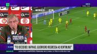 «O Raphael Guerreiro está fora, vai regressar a Dortmund»