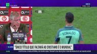 «O único título que falta a Cristiano é o Campeonato do Mundo»