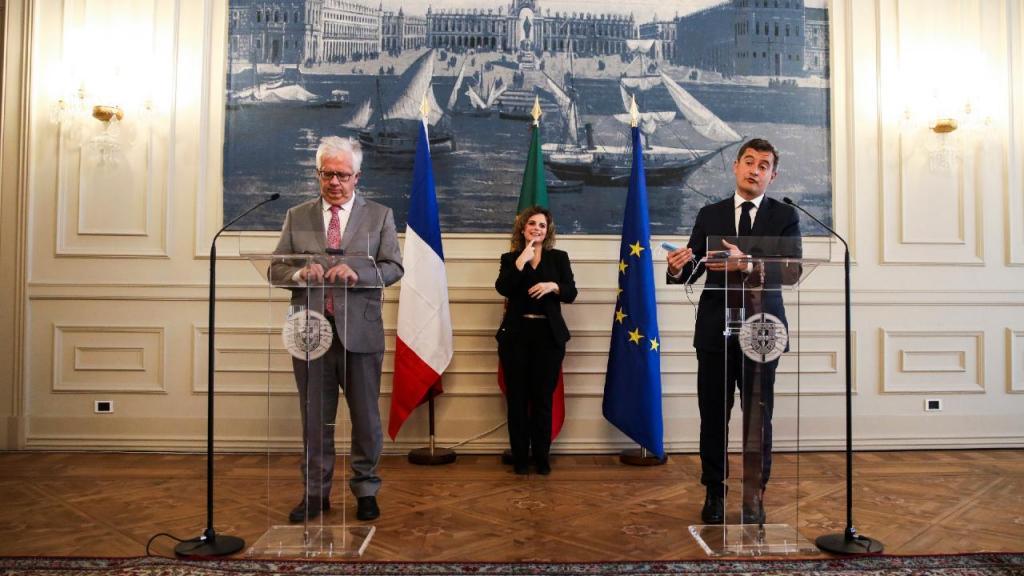 Ministros da Administração Interna de Portugal e França