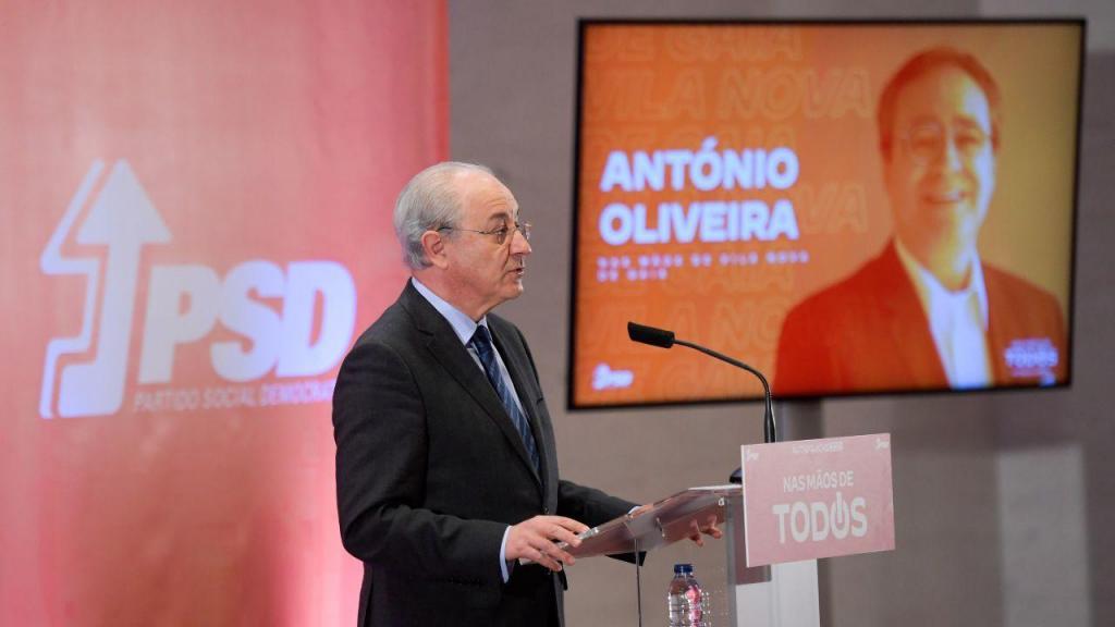 Rui Rio apresenta António Oliveira como candidato a Gaia