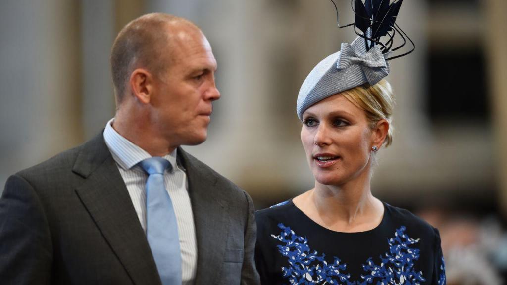 Zara Tindell e o marido Mike
