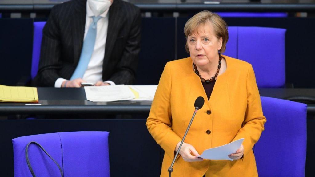 Angela Merkel, chanceler alemã