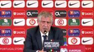 A análise de Fernando Santos à vitória «magra» frente ao Azerbaijão