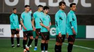 Treino dos sub-21 de Portugal: Filipe Soares, Vítor Ferreira, Daniel Bragança e Pedro Gonçalves em foco (André Sanano/FPF)