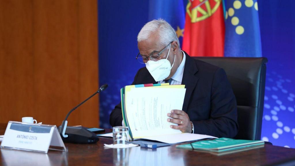 Primeiro-ministro António Costa participa na videoconferência do Conselho Europeu