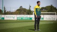 Ruben Amorim no treino do Sporting (Sporting CP)