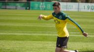 Gonçalo Inácio no treino do Sporting (Sporting CP)
