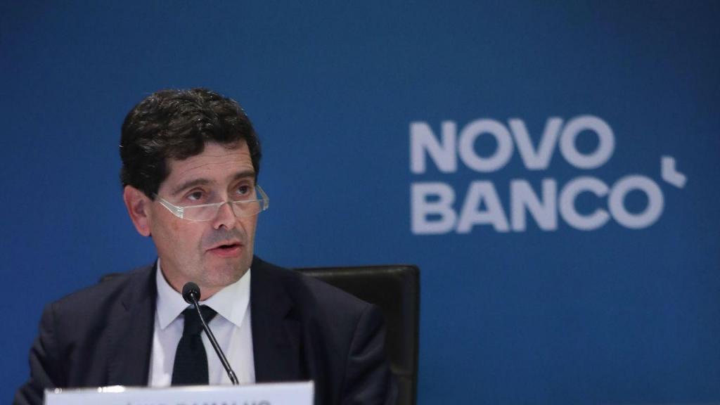 António Ramalho apresenta os resultados do Novo Banco