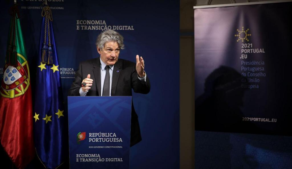 Comissário europeu Thierry Breton