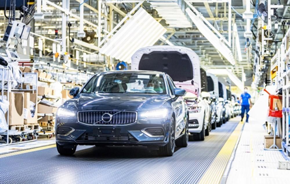Fábrica da Volvo em  Daqing