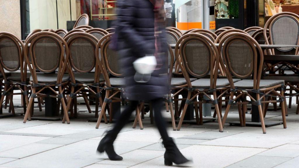 Bares e restaurantes fechados