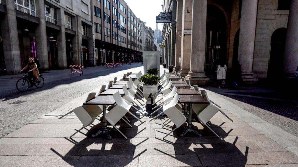 Confinamento em Milão, Itália