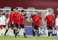 Espanha venceu a Geórgia