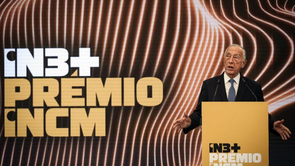 Marcelo e Costa na entrega dos prémios IN3+