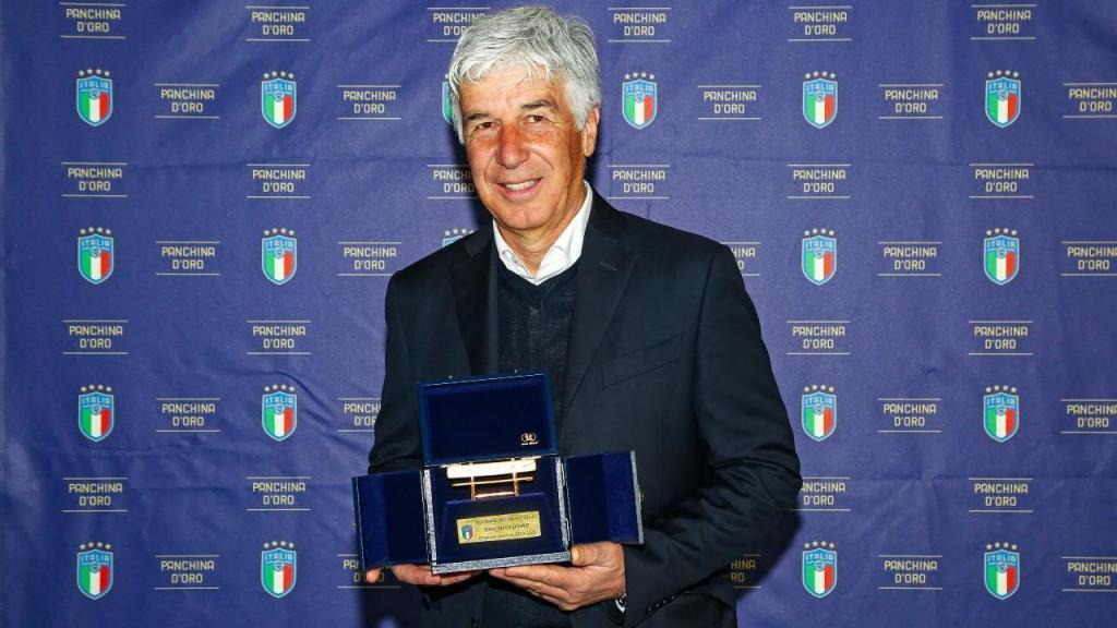 Gian Piero Gasperini eleito melhor treinador da Série A pelo segundo ano consecutivo