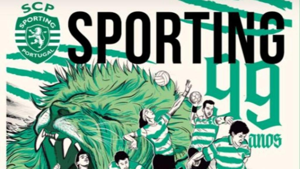 Jornal Sporting: edição do 99.º aniversário