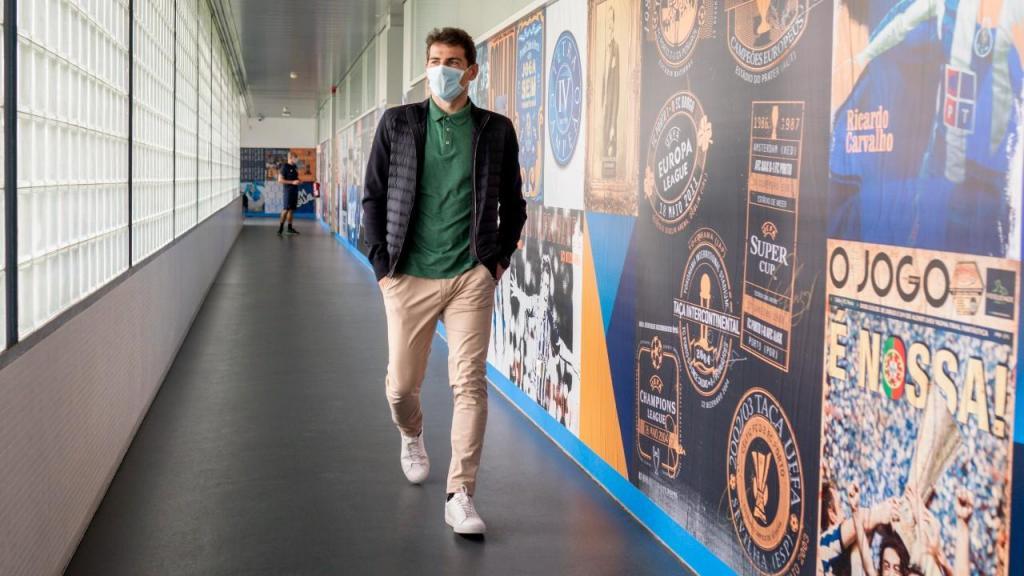 Casillas voltou ao Olival (fotos: FC Porto)