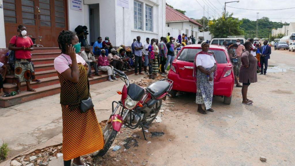 Deslocadoa na região da Pemba, Moçambique
