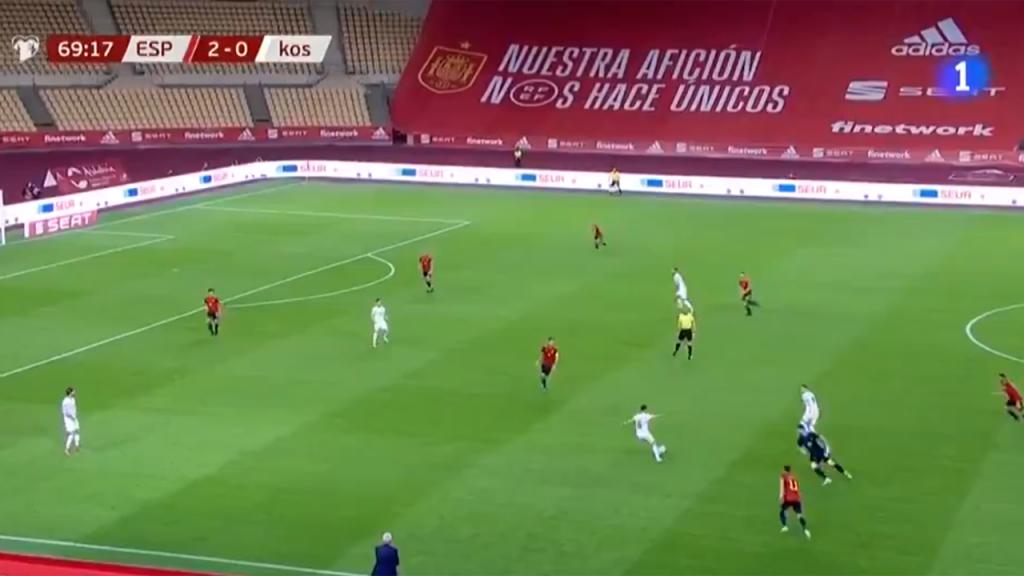 Espanha-Kosovo na RTVE