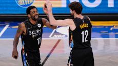 VÍDEO: Irving e Harris levam Nets à liderança a Este na NBA