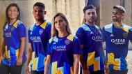 A nova camisola do Boca Juniors