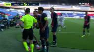 Neymar e Tiago Djaló expulsos após lance discutido entre ambos