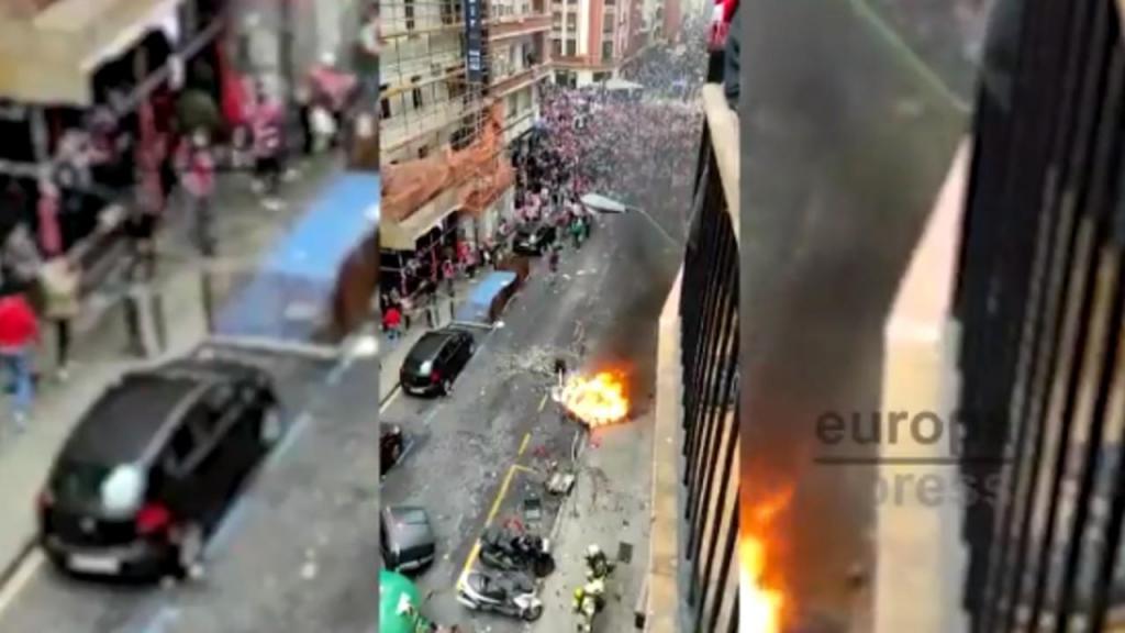 Ruas de Bilbao (twitter)