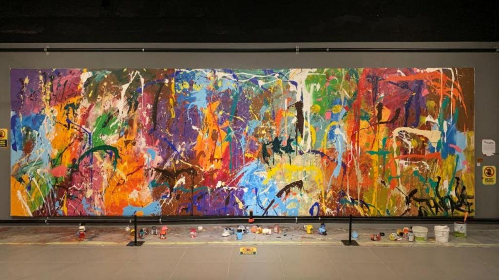 Obra de arte vandalizada