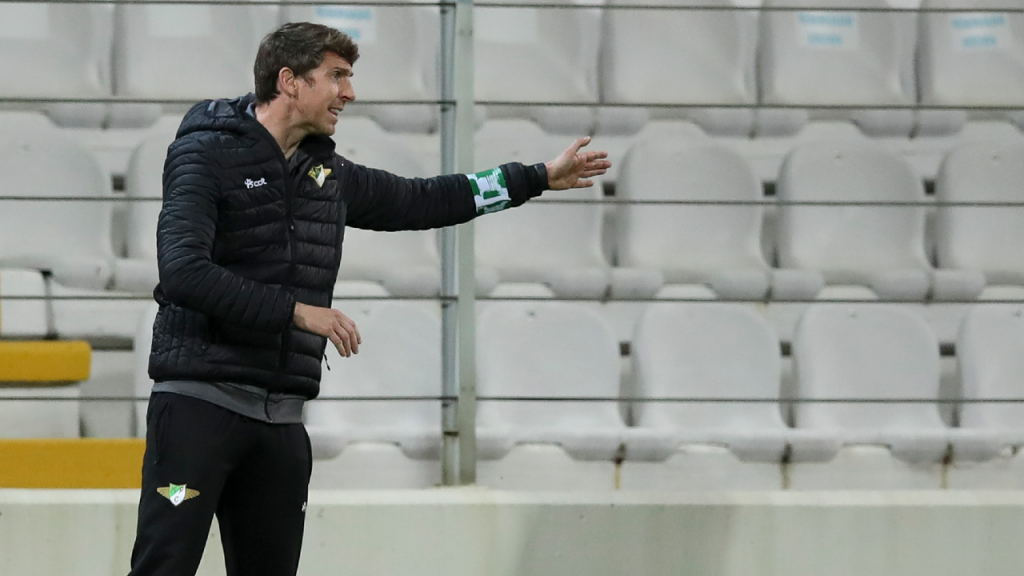 Vasco Seabra no Moreirense-Sporting (LUSA)