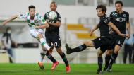 Filipe Soares, João Mário, Daniel Bragança e João Palhinha no Moreirense-Sporting (José Coelho/LUSA)